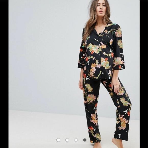 a6002e9d17 NWT ASOS floral maternity pajama set 💕